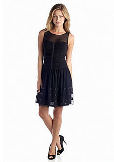 Betsey Johnson Fit and Flare Cocktail Dress