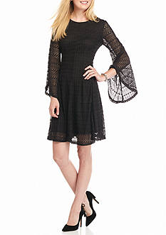 Soho Lace Fit and Flare Dress
