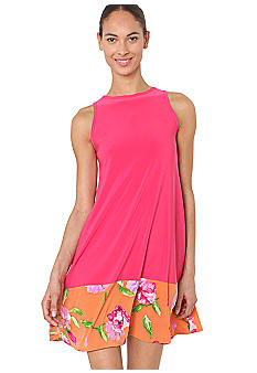 Isaac Mizrahi New York Sleeveless Color Block Dress