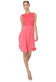 Isaac Mizrahi New York Sleeveless Soutache Swing Dress