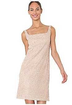 Isaac Mizrahi New York Sleeveless Sequin Sheath Dress