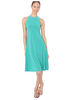 Isaac Mizrahi New York Sleeveless Dress with Crisscross Back