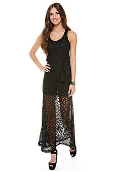 Mod Modele Crochet Maxi Dress