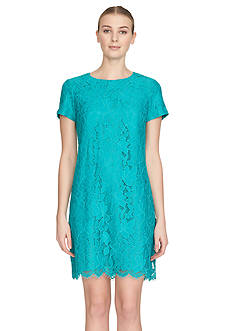 Cynthia Steffe Lace Shift Dress