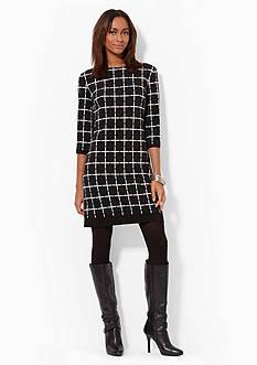 American Living™ Geo-Print Jersey Dress