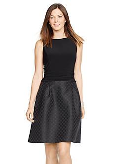 American Living™ Sateen Combo Dress
