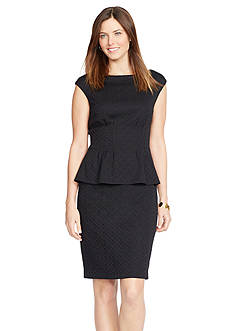 American Living™ Knit Peplum Dress