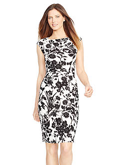 American Living™ Ruched Jersey Dress