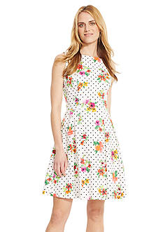 American Living™ Floral Sateen Dress