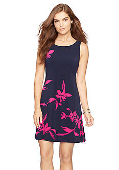 American Living™ Floral Jersey Dress