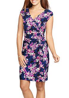 American Living Ruffled Floral Dress