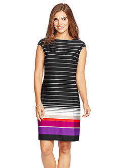 American Living™ Striped Jersey Sheath Dress
