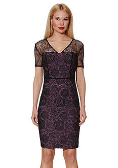 NUE by Shani™ Jacquard Knit Dress