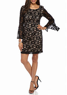 Robbie Bee Lace Sheath Dress