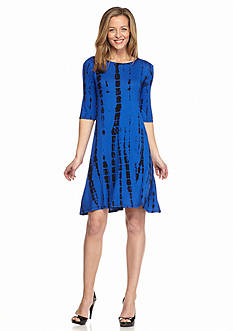 Danillo Boutique Tie Dye Shift Dress