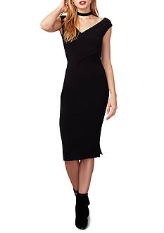 RACHEL Rachel Roy Off the Shoulder Jersey Dress