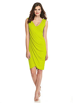 RACHEL Rachel Roy Sleeveless Wrap Dress