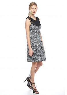 RACHEL Rachel Roy Marled Sweater Dress