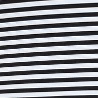 Work Dresses: Black/White Beige by ECI Ottoman Stripe Dress