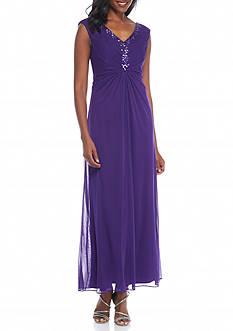 SCARLETT Bead Embellished Gown