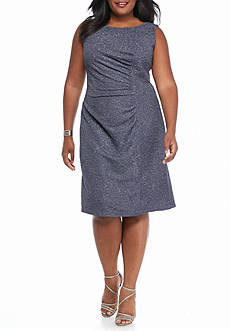 SCARLETT Plus Size Sparkle Sheath Dress