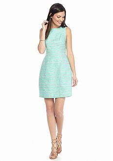 Blithe™ Sleeveless Tweed Sheath Dress