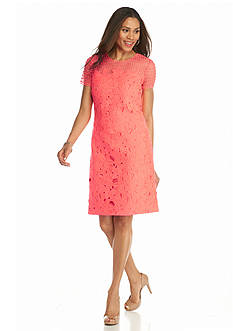 Donna Ricco New York Lace Shift Dress