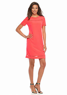 Donna Ricco New York Crepe Shift Dress