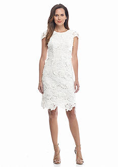 Donna Ricco New York Lace Sheath Dress