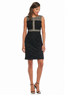 Donna Ricco New York Twin Lace Sheath Dress
