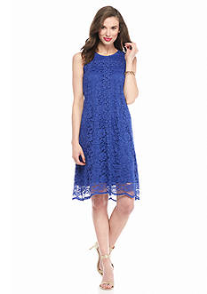 Donna Ricco New York Lace Trapeze Dress