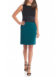 Donna Ricco New York Colorblock Sheath Dress