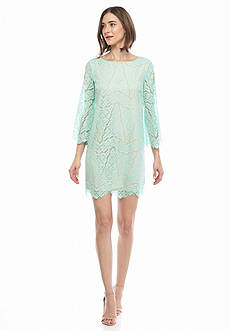 maia Lace Shift Dress