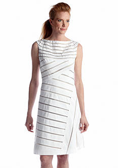Adrianna Papell Sleeveless A-line Dress