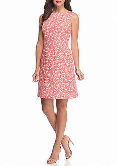 Adrianna Papell Floral Lace Sheath Dress