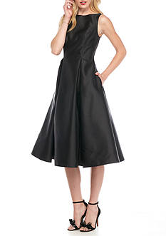 Adrianna Papell Fit and Flare T-length Cocktail Dres