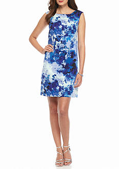 Adrianna Papell Floral Printed Sheath Dress