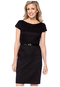 AGB Seamed Sheath Dress