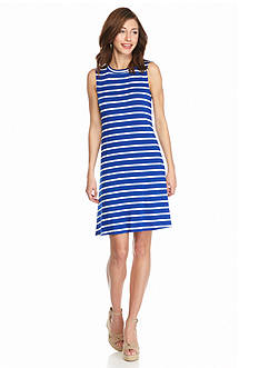 AGB Striped Shift Dress