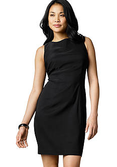 AGB Solid Sheath Dress