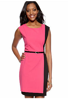 AGB Colorblock Sheath Dress