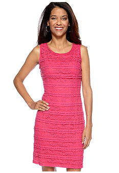 AGB Petite Lace Sheath Dress