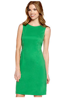 AGB Petite Basic Sheath Dress