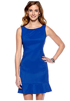 AGB Petite Sleeveless Shift Dress