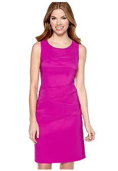 AGB Petite Sleeveless Sheath Dress