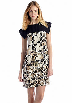 Nine West Dress Printed Shift Dress