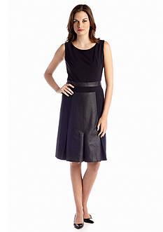 Nine West Dress Sleeveless A-line Dress