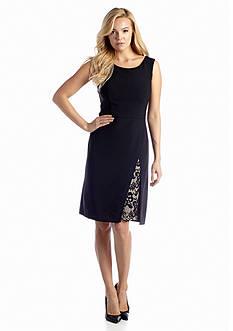 Nine West Dress Sleeveless A-line Dress