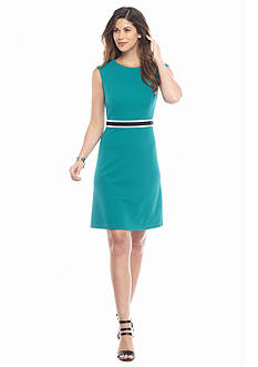 Nine West Colorblock A-line Dress