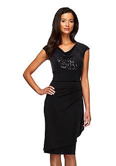 Alex Evenings Empire-waist Dress